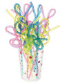 G-Clef Shaped Straw - 12 Straws/Cup