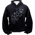 EMB Notes Hoodie - Black/White - Large
