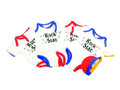 Rock Star Kids' Onesies - 3/Pc Set - 19-26 Lbs. - Assorted Colors