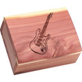 Electric Guitar Cedar Box