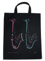 Saxophone Four Color Tote Bag - Extra Large