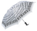Keyboard With Sheet Music Umbrella
