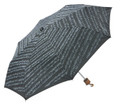 Sheet Music Umbrella - Black (Mini travel size)