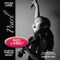 "Red Label ""Pearl"" Violin String Set"