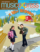 A New Beginning Vol. 9 No. 4. (January/February 2009). For Choral (Teacher Magazine w/CD). Music Express. 64 pages. Published by Hal Leonard.  Songs: A New Beginning, Put on a Happy Face (from Bye Bye Birdie), Interview with Charles Strouse, Walk with Me, Tulitha, Chapter 4, Everyone Needs a Hero, Lift Every Voice and Sing, Listening: The Easy Winners (Joplin), Celebrate Australia Day, Waltzing Matilda.