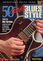 50 Licks Blues Style by Mat Gurman. For Guitar. Instructional/Guitar/DVD. DVD. Published by Hal Leonard.  Unlock the secrets of blues guitar! Ace session guitarist Mat Gurman teaches budding bluesmasters 50 terrific phrases, demonstrating licks for dominant and minor blues progressions, turnarounds, intro licks, ending licks, stop time licks and many more. He also shows players the classic techniques used in blues guitar, such as: bends, pull-offs, hammer-ons, slides, slurs, vibrato, muted string raking and more! Each lick is played in context, then demonstrated slowly with full explanations of every technique used. Includes an instructional booklet. 59 minutes.
