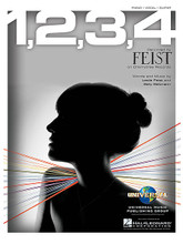 1,2,3,4 by Feist. For Piano/Vocal/Guitar. Piano Vocal. 8 pages. Published by Hal Leonard.  Sheet music.