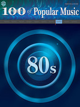 100 Years of Popular Music: 80s. (100 Years of Popular Music). By Various. For Piano/Vocal/Guitar. P/V/C Mixed Folio; Piano/Vocal/Chords. 100 Years of Popular Music. Pop and 1980s. Songbook. Vocal melody, lyrics, piano accompaniment, chord names and guitar chord diagrams. 256 pages. Hal Leonard #MFM0313. Published by Hal Leonard.  Fifty-five titles, including: All Night Long (Lionel Richie) * Billie Jean (Michael Jackson) * She Works Hard for the Money (Donna Summer) * Conga (Miami Sound Machine) * What's Love Got to Do With It (Tina Turner) * Wind Beneath My Wings (Bette Midler) * You Give Love a Bad Name (Bon Jovi) and many more.