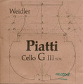 Weidler/Piatti Cello C String