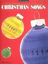 25 Top Christmas Songs by Various. For Piano/Vocal/Guitar. Piano/Vocal/Guitar Songbook. 80 pages. Published by Hal Leonard.  Includes: Blue Christmas • C-H-R-I-S-T-M-A-S • The Christmas Song • The Christmas Waltz • Do You Hear What I Hear • Frosty the Snow Man • Have Yourself a Merry Little Christmas • Here Comes Santa Claus • A Holly Jolly Christmas • Jingle-Bell Rock • Last Christmas • Merry, Merry Christmas Baby • My Favorite Things • Pretty Paper • Silver Bells • Sleigh Ride • more.
