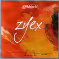 D'Addario Zyex Viola D String, Long