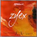 D'Addario Zyex Viola C String, Silver/Tungsten - Medium
