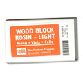 Light Wood Block Rosin For Violin Or Viola