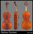 RENTAL: Andreas Eastman Model 200 Cello