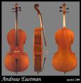 RENTAL: Andreas Eastman Model 200 Cello