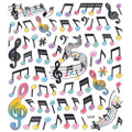 Music Notation Stickers