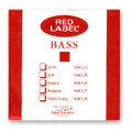 Red Label Bass String Set, 1/2 Size - Orchestra