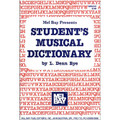 Bye: Student Musical Dictionary
