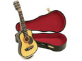 Mini Musical Acoustic Guitar Replica with Case - Take Me Home Country Roads""