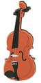"Violin Magnet - 3"" X 1-1/16"""