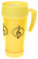 Travel Mug G-Clef - Yellow