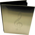 "G-Clef Aluminum Photo Album 4"" x 6"""