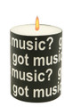 Got Music? Candle - 3.5 x 2.75