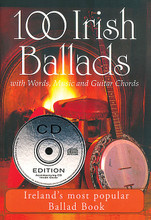 100 Irish Ballads - Volume 2. (Ireland's Most Popular Ballad Book). By Various. For Melody/Lyrics/Chords. Waltons Irish Music Books. Softcover with CD. 112 pages. Hal Leonard #WM1014CD. Published by Hal Leonard (HL.634190).  ISBN 1857200977. 5.75x8.25 inches.  100 of the best-loved Irish songs and ballads are presented in this collection of lyrics, music and guitar chords. Includes a CD with the first verse and chorus of the songs from the book.  Volume 2 includes: Arthur McBride • The Fields of Athenry • Song for Ireland • From Clare to Here • Four Green Fields • Dublin Jack of All Trades • The Bard of Armagh • Bold Thady Quill • Henry My Son • The Patriot Game • Tipping It Up to Nancy • When You Were Sweet Sixteen • The Boys of the Old Brigade • Paddy Works on the Railway • The Rocky Road to Dublin • and more.