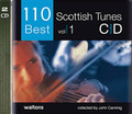 "110 Best Scottish Tunes edited by John Canning. For Melody/Lyrics/Chords. Waltons Irish Music Books. CD only. Hal Leonard #WM1397. Published by Hal Leonard.  This dynamic first Scottish tune collection in the ""110 Best"" series presents some of the most enduring and popular tunes from the Scottish tradition. Including jigs, reels, strathspeys and more, this volume is a must for any lover and player of traditional music and the arrangements are suitable for all melody instruments. Includes: The Fairy Dance • Loch Leven Castle • Lord MacDonald • Marry Me Now • The Soldier's Joy • Argyle Is My Name • The Hundred Pipers • I Lost My Love • The Lady of the Lake • The Sailor's Wife • Alister McAlister • The Duke of Gordon • The Highlander's Farewell to Ireland • Lasses Look Before You • Miss Lyall • The Recovery • The Dancing Scotsman • Fingal's Cave • MacGregor's Gathering • and more."