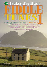110 Ireland's Best Fiddle Tunes - Volume 1 (with Guitar Chords). Edited by Paul McNevin. For Fiddle (Guitar). Waltons Irish Music Books. Book only. 110 pages. Hal Leonard #WM1312. Published by Hal Leonard.  110 of the most popular and enduring session tunes in Ireland and around the world. Join in wherever you go with this session-friendly collection of jigs, reels, hornpipes, polkas, slides, airs and more. Suitable for all melody instruments.  Volume 1 includes: A Day at the Races • Sorry to Part • The Mooncom Jig • Paddy's Return • Phil's Jig • The Thrush on the Strand • The Blackhaired Lass • The Brosna Slide • The Castleisland Polka • The Wedding Polka • Flaherty's • The Golden Eagle • The Poppy Leaf • The Sunny Banks (The Blackbird) • Bonnie Kate • The Concertina • The Earl's Chair • Geehan's Frolics • Maeve's Return • The Morning Dew • The Roscommon Reel • Toss the Feathers • and more.