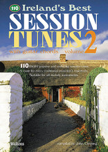 110 Ireland's Best Session Tunes - Volume 2 (with Guitar Chords). Edited by John Canning. For Melody/Lyrics/Chords. Waltons Irish Music Books. Book only. 50 pages. Hal Leonard #WM1366. Published by Hal Leonard.  The cream of Irish traditional music is presented in three core collections of essential session tunes. Each book includes 110 of the most popular and enduring session tunes in Ireland and around the world. Join in wherever you go with these collections of jigs, reels, hornpipes, polkas, slides, airs and more. All the books feature accurate transcriptions in an easy-to-read format, and include guitar chords.  Volume 2 includes: Billy Brocker's Castle • Kelly Cooley's Dublin Reel • The Dunmore Lassies • Eileen Curran • The Enchanted Lady • Famous Ballymote • The Flowers of Redhill • The Geehan's Glass of Beer • and more.