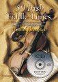 50 Irish Fiddle Tunes. For Fiddle (IRISH FIDDLE). Waltons Irish Music Books. Book with CD. 30 pages. Hal Leonard #WM1370CD. Published by Hal Leonard.  Fifty choice tunes, as arranged and played by one of the all-time greats of Irish traditional fiddling, Tommy Peoples.  Tommy Peoples was born in Letterkenny, Co. Donegal, and grew up in Killycally, St. Johnston, Co. Donegal. He learned partly from his father but started lessons with his cousin Joe Cassidy at the age of seven. Peoples developed his own techniques of bowing from early in his playing career and is one of the most inventive and imaginative of traditional fiddlers. A move to Dublin led to his involvement in the foundation of The Green Linnet CéilI Band and, in 1974, to a brief spell with the group 1691. Soon after, he joined the legendary Bothy Band, with which he recorded an album in 1975. In the late 1970s he played for a time with the Kilfenora Céili Band but was always happier in small sessions rather than stage performances. One of the most memorable traditional albums of this period is Matt Molloy, Paid Brady, Tommy Peoples (1978), notable for the great passion and energy of all three players' performances. Peoples has released a number of solo albums, including The High Part of the Road (1979), on which he was accompanied by Paul Brady. Throughout the 1980s and '90s he played small sessions, many of them around Co. Clare. The Quiet Glen/An Gleann Giiiin was released in 1998, with Aiph Duggan on guitar, and has strengthened Peoples' standing as one of the all-time greats of Irish traditional fiddling.