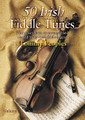 50 Irish Fiddle Tunes. For Fiddle (IRISH FIDDLE). Waltons Irish Music Books. Book only. 30 pages. Hal Leonard #WM1370. Published by Hal Leonard.  Fifty choice tunes, as arranged and played by one of the all-time greats of Irish traditional fiddling, Tommy Peoples.  Tommy Peoples was born in Letterkenny, Co. Donegal, and grew up in Killycally, St. Johnston, Co. Donegal. He learned partly from his father but started lessons with his cousin Joe Cassidy at the age of seven. Peoples developed his own techniques of bowing from early in his playing career and is one of the most inventive and imaginative of traditional fiddlers. A move to Dublin led to his involvement in the foundation of The Green Linnet CéilI Band and, in 1974, to a brief spell with the group 1691. Soon after, he joined the legendary Bothy Band, with which he recorded an album in 1975. In the late 1970s he played for a time with the Kilfenora Céili Band but was always happier in small sessions rather than stage performances. One of the most memorable traditional albums of this period is Matt Molloy, Paid Brady, Tommy Peoples (1978), notable for the great passion and energy of all three players' performances. Peoples has released a number of solo albums, including The High Part of the Road (1979), on which he was accompanied by Paul Brady. Throughout the 1980s and '90s he played small sessions, many of them around Co. Clare. The Quiet Glen/An Gleann Giiiin was released in 1998, with Aiph Duggan on guitar, and has strengthened Peoples' standing as one of the all-time greats of Irish traditional fiddling.