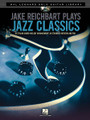 Jake Reichbart Plays Jazz Classics. (Hal Leonard Solo Guitar Library). By Jake Reichbart. For Guitar. Guitar Solo. Softcover with DVD. Guitar tablature. 24 pages. Published by Hal Leonard.  Ten stylish chord-melody arrangements in standard notation and tablature by Jake Reichbart, one of the busiest freelance guitarists in the business. This unique package also includes an instructional DVD, featuring him performing and teaching each song, to guide you through. Songs: Afternoon in Paris • Fly Me to the Moon (In Other Words) • Footprints • Four • I Remember You • St. Thomas • So Nice (Summer Samba) • Very Early • Watch What Happens • Yesterdays.