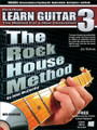 The Rock House Method: Learn Guitar 3. (The Method for a New Generation). For Guitar. Rock House. Softcover with CD. Guitar tablature. 96 pages. Published by Hal Leonard.  Prepare to enter into the elite world of guitar in this advanced book in the Rock House Method series. Learn to play and apply challenging scales, lead techniques and chords within the context of a song. Many advanced skills will be learned: modal theory, chord construction, diatonic 3rd harmonies, building a chord scale and the Phrygian major scales are just a few of the things you will learn that will help you become a well-rounded guitarist and give the tools needed to create your own music. Includes MP-3 CD.
