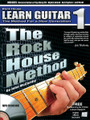The Rock House Method: Learn Guitar 1. (The Method for a New Generation). For Guitar. Rock House. Softcover with CD. Guitar tablature. 80 pages. Published by Hal Leonard.  Learn the essential techniques needed to play all genres of music. Start with how to hold the guitar, pick and proper hand position for comfortable playing. Next learn chords, rhythm, timing, strumming techniques and how they are used to play popular songs. Learn scales, riffs and the basics of lead guitar. From theory to complete songs, everything you need to play acoustic or electric guitar is here for you. This comprehensive book is a great place to start your musical journey! Includes an MP3 CD.