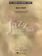 Beat Street by David Benoit and Jeff Lorber. Arranged by Mike Tomaro. For Jazz Ensemble (Score & Parts). Boosey & Hawkes Concert Band. Grade 4. Published by Boosey & Hawkes.  From David Benoit's recent CD Full Circle, here is a funky piece that features a catchy groove and and infectious melody. Skillfully adapted by Mike Tomaro in this version for jazz ensemble it includes solos for tenor sax and piano.  Instrumentation:  1 - CONDUCTOR SCORE (FULL SCORE) 20 pages  1 - C SOLO SHEET 2 pages  1 - BB SOLO SHEET 2 pages  1 - EB SOLO SHEET 2 pages  1 - C BASS CLEF SOLO 2 pages  1 - ALTO SAX 1 3 pages  1 - ALTO SAX 2 3 pages  1 - TENOR SAX 1 3 pages  1 - TENOR SAX 2 3 pages  1 - BARITONE SAX 3 pages  1 - TRUMPET 1 3 pages  1 - TRUMPET 2 3 pages  1 - TRUMPET 3 3 pages  1 - TRUMPET 4 3 pages  1 - TROMBONE 1 3 pages  1 - TROMBONE 2 3 pages  1 - TROMBONE 3 3 pages  1 - TROMBONE 4 3 pages  1 - AUX PERCUSSION 3 pages  1 - DRUMS 3 pages  1 - PIANO 8 pages  1 - GUITAR 3 pages  1 - BASS 3 pages