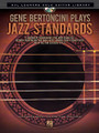 "Gene Bertoncini Plays Jazz Standards (Hal Leonard Solo Guitar Library). Arranged by Gene Bertoncini. For Guitar. Guitar Solo. Softcover with CD. Guitar tablature. 48 pages. Published by Hal Leonard.  10 imaginative arrangements that move seamlessly between chord melody and single notes, drawing from a sophisticated mix of jazz and classical styles. Gene Bertoncini is one of the pre-eminent jazz guitarists active today. His elegant blend of jazz and classical styles has won him international accolades as the ""Segovia of jazz."" The arrangements in this book/CD are selections from his acclaimed albums Body and Soul and Quiet Now with original audio tracks included! Songs include: Body and Soul • Edelweiss • I Remember You • My Funny Valentine • Sophisticated Lady • Stardust • and more."