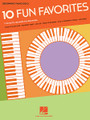 10 Fun Favorites by Various. For Piano/Keyboard. Beginning Piano Solo Songbook. Softcover. 24 pages. Published by Hal Leonard.  Fun and easy arrangements of 10 favorite tunes: Catch a Falling Star • Happy Birthday to You • The Hokey Pokey • I'd Like to Teach the World to Sing • I'm an Old Cowhand (From the Rio Grande) • Let It Be • Over the Rainbow • Star Wars (Main Theme) • Tomorrow • What a Wonderful World.