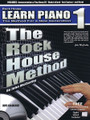 The Rock House Method: Learn Piano 1. (The Method for a New Generation). For Piano/Keyboard. Rock House. Softcover with CD. Guitar tablature. 60 pages. Published by Hal Leonard.  Designed for piano or electric keyboard, learn the essential techniques, knowledge and everything you need to start playing now! Start with proper posture and hand position for comfortable playing. Next, follow a gradual and progressive learning path to read music notation, rhythm, timing, and how they are used to play songs. Techniques are demonstrated with audio play along backing tracks. Use quizzes to help reinforce new concepts and gauge your progress. Whether you are learning on your own or with an instructor this compressive book is a great place to start your musical journey!  This step-by step-course has 60 pages of lessons and can be used with a teacher or self-guided. Includes: CD with backing tracks you practice with, lifetime web membership for 24/7 lesson support. Also includes a quiz system that helps you track your progress, digital version you get when you register for support at the web site and much more.
