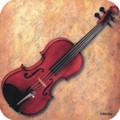 Vinyl Coaster Violin Sheet Music