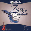 Zyex Violin G Silver 3/4-1/16