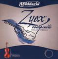 Zyex Violin Set w/Aluminum D 3/4-1/16