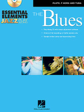 Essential Elements Jazz Play-Along - The Blues (Flute, F Horn and Tuba (B.C.)). By Michael Sweeney and Paul Murtha. Arranged by Mike Steinel. For Jazz Ensemble. Instrumental Jazz. Grade 2. Book with CD. 68 pages. Published by Hal Leonard.  Sample solos by Mike Steinel  Welcome to the exciting world of jazz improvisation! Whether you are using this book as a supplement to the Essential Elements for Jazz Ensemble method book or just by itself, this play-along book will help you get started creating your own improvised solos. The recordings feature professional jazz players performing well-known jazz classics and provide an excellent model for playing in a jazz style. In addition, sample solos are provided as a guide for creating effective melodies. An added feature on the CD-ROM is a software program for changing the tempo of any of the recorded tracks! When used in your computer, The Amazing Slow Downer will allow you to adjust the tempo to suit your needs as you progress through the book.  Includes 10 blues classics: All Blues • Bags' Groove • Blue 'N Boogie • Blue Monk • Blues in Frankie's Flat • Blues in the Closet • Cold Duck Time • St. Louis Blues • Straight No Chaser • Tenor Madness.