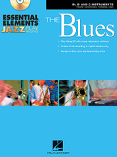 Essential Elements Jazz Play-Along - The Blues (B-flat, E-flat and C Instruments). By Michael Sweeney and Paul Murtha. Arranged by Mike Steinel. For Jazz Ensemble. Instrumental Jazz. Grade 2. Book with CD. 88 pages. Published by Hal Leonard.  Sample solos by Mike Steinel  Welcome to the exciting world of jazz improvisation! Whether you are using this book as a supplement to the Essential Elements for Jazz Ensemble method book or just by itself, this play-along book will help you get started creating your own improvised solos. The recordings feature professional jazz players performing well-known jazz classics and provide an excellent model for playing in a jazz style. In addition, sample solos are provided as a guide for creating effective melodies. An added feature on the CD-ROM is a software program for changing the tempo of any of the recorded tracks! When used in your computer, The Amazing Slow Downer will allow you to adjust the tempo to suit your needs as you progress through the book.  Includes 10 blues classics: All Blues • Bags' Groove • Blue 'N Boogie • Blue Monk • Blues in Frankie's Flat • Blues in the Closet • Cold Duck Time • St. Louis Blues • Straight No Chaser • Tenor Madness.