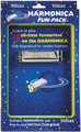 Harmonica Fun-Pack. (Harmonica/Book). For Harmonica. Waltons Irish Music Instrument. Hal Leonard #WM1533. Published by Hal Leonard.  A colorful child-friendly introduction to the harmonica! Includes a book with a fine collection of tunes and simple, fully diagrammed instruction, plus a quality Delta C harmonica.