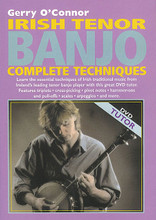 Irish Tenor Banjo Complete Techniques. For Banjo. Waltons Irish Music Dvd. DVD. Hal Leonard #WM1403DVD. Published by Hal Leonard.  Over 60 minutes of expert instruction by one of Ireland's leading tenor banjo players. Includes live stage performances featuring Steve Cooney (guitar), Charlie Lennon (fiddle), Tommy Hayes (bodhran) and Cormac Breathnach (whistle). You'll learn essential techniques of Irish traditional music, including triplets, cross-picking, pivot notes, hammer-ons and pull-offs, scales, arpeggios and more.