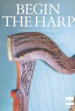 Begin the Harp. For Harp (Harp). Waltons Irish Music Books. Book only. 44 pages. Hal Leonard #WM1075. Published by Hal Leonard.  A comprehensive beginning instruction book for the Irish folk harp, taking the beginner from simple basics to accomplished playing of well-known Irish airs.
