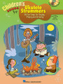 """Children's Songs for Ukulele Strummers by Various. For Ukulele. Ukulele. Softcover with CD. 56 pages. Published by Hal Leonard.  Perfect for singing, playing and listening, this book/CD pack contains 38 songs that kids love! The book presents the melody, lyrics and uke chord frames for each song, and the accompanying CD features a full performance of each tune. Includes: Alphabet Song • Any Dream Will Do • Bingo • Bob the Builder """"Intro Theme Song"""" • Do-Re-Mi • The Hokey Pokey • I've Been Working on the Railroad • It's a Small World • Mickey Mouse March • My Favorite Things • Puff the Magic Dragon • The Rainbow Connection • Skip to My Lou • This Land Is Your Land • Yellow Submarine • Zip-A-Dee-Doo-Dah • and more, with adorable illustrations throughout!"""