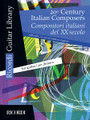 20th Century Italian Composers (Guitar). By Various. Edited by Frédéric Zigante and Fr. For Guitar. MGB. Softcover. 76 pages. Ricordi #R140712. Published by Ricordi.  Nine intermediate-level pieces by Bettinelli, Castelnuovo-Tedesco, Malipiero, Petrassi, Respighi, and others.